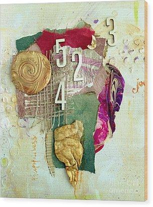 #5423, Joy And Happiness Wood Print
