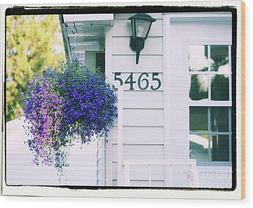 5465 -h Wood Print by Aimelle