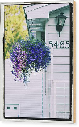 5465 -v Wood Print by Aimelle
