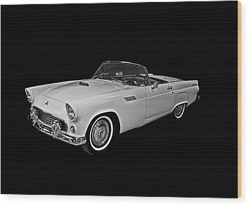 Wood Print featuring the photograph 55 T Bird by Gary Smith
