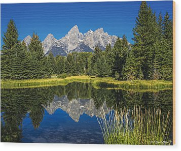 #5700 - Shwabakers Landing, Wyoming Wood Print