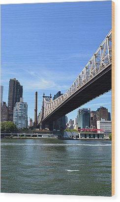 59th Street Bridge No. 13 Wood Print by Sandy Taylor