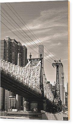 59th Street Bridge No. 4-1 Wood Print