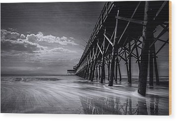 Folly Beach Wood Print