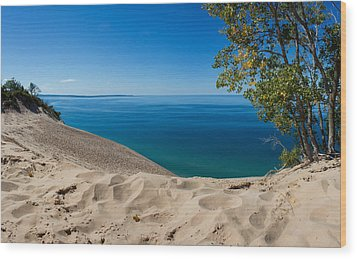 Sleeping Bear Dunes Wood Print by Twenty Two North Photography