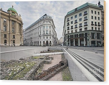 Vienna Wood Print by Andre Goncalves