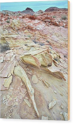 Wood Print featuring the photograph Valley Of Fire by Ray Mathis