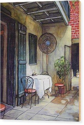 61 Wood Print by John Boles