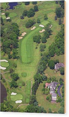 6th Hole Sunnybrook Golf Club 398 Stenton Avenue Plymouth Meeting Pa 19462 1243 Wood Print by Duncan Pearson