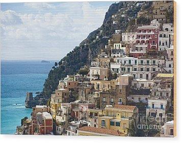 Amalfi Coast Wood Print by Andre Goncalves