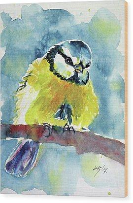 Bird Wood Print by Kovacs Anna Brigitta