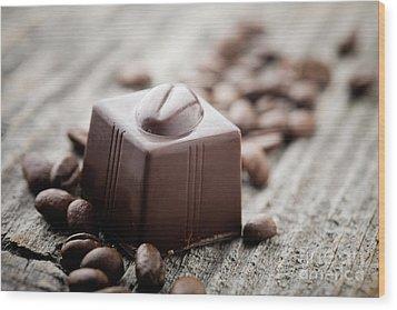 Chocolate Wood Print by Kati Molin