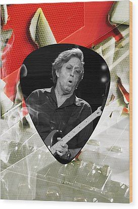 Eric Clapton Art Wood Print