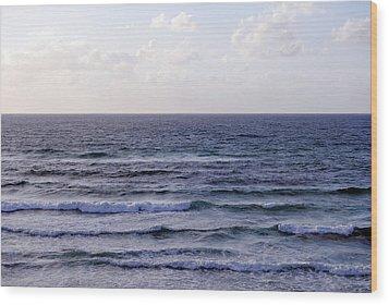 Jaffa Beach 2 Wood Print by Isam Awad