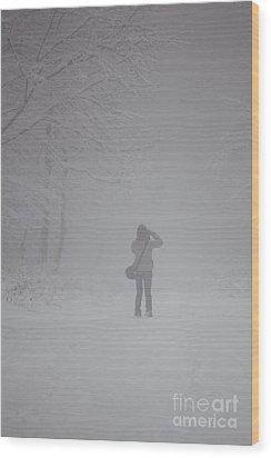 Winter Wood Print by Gabriela Insuratelu