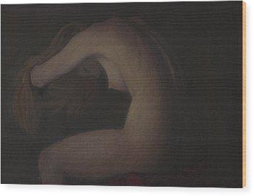 Nude Study Wood Print