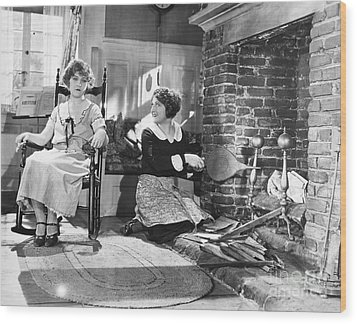 Silent Film Still Wood Print by Granger