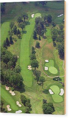 7th Hole Sunnybrook Golf Club 398 Stenton Avenue Plymouth Meeting Pa 19462 1243 Wood Print by Duncan Pearson
