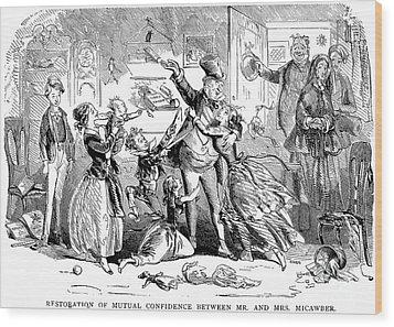 Dickens: David Copperfield Wood Print by Granger