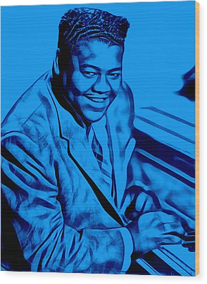 Fats Domino Collection Wood Print