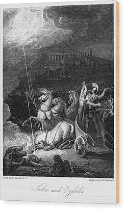 Homer: The Iliad Wood Print by Granger