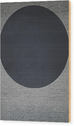 Wood Print featuring the painting Perfect Existence by Kyung Hee Hogg