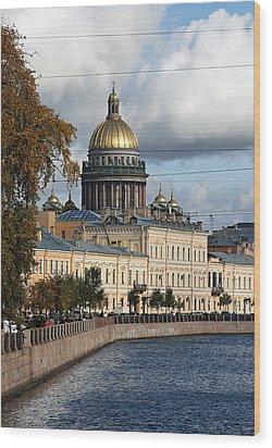 St. Petersburg Wood Print
