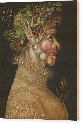 Summer Wood Print by Giuseppe Arcimboldo