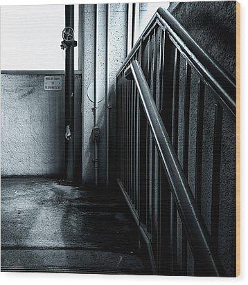 8th Floor Wood Print by Bob Orsillo