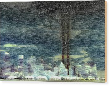 9 11 Memorial Wood Print by Andrea Barbieri