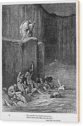 Dante: Inferno Wood Print by Granger