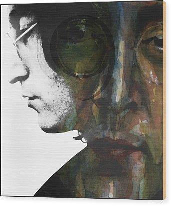 #9 Dream Wood Print by Paul Lovering