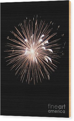 Fireworks Wood Print by Brent Parks