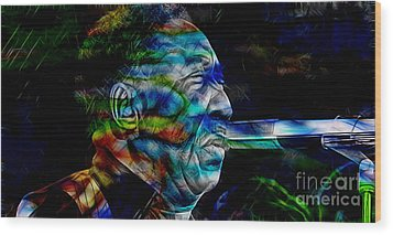 Muddy Waters Collection Wood Print