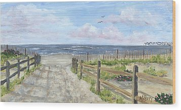 92nd Street Wood Print by Margie Perry