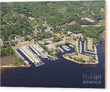 Wood Print featuring the photograph A-008 Afton Harbors 2 Minnesota by Bill Lang
