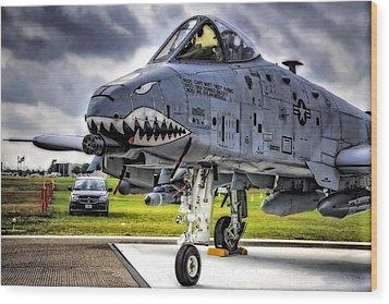 A-10 Thunderbolt  Wood Print