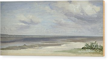 A Beach On The Baltic Sea At Laboe Wood Print by Jacob Gensler
