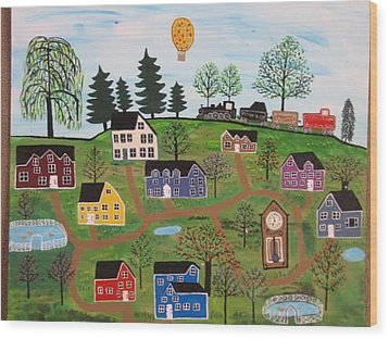 A Beautiful Day In Deltalareah Wexla Wood Print by Mike Filippello