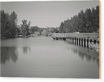 Wood Print featuring the photograph A Beautiful Day by Kim Hojnacki