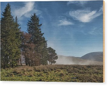 Wood Print featuring the photograph A Beautiful Scottish Morning by Jeremy Lavender Photography