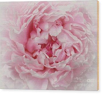 A Beauty At Close Range Wood Print by Jutta Maria Pusl