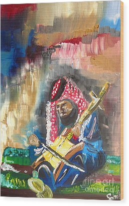 A Bedouin Life Wood Print by Sabrina Phillips