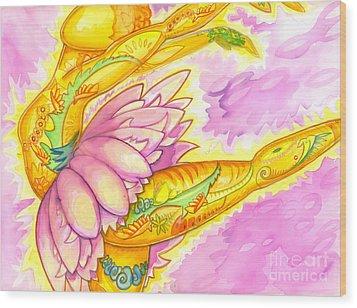 A Bird's Dance Is Flight Wood Print
