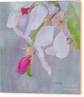Wood Print featuring the photograph A Breath Of Spring by Betty LaRue
