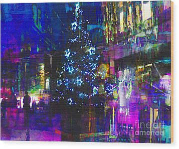 Wood Print featuring the photograph A Bright And Colourful Christmas by LemonArt Photography