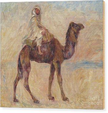 A Camel Wood Print by Pierre Auguste Renoir