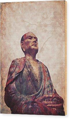 Buddha 5 Wood Print by Lynn Sprowl