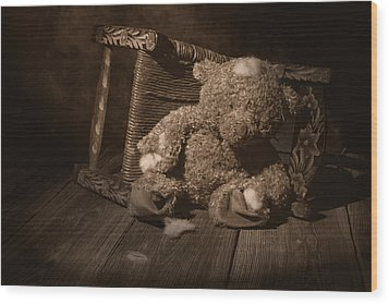 A Child Once Loved Me Wood Print by Tom Mc Nemar