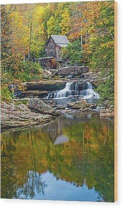 A Colorful Fall Day In Wva Wood Print